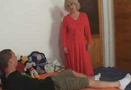 She fucks the brush son-in-law