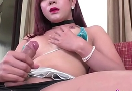 Redhead Asian Shemale
