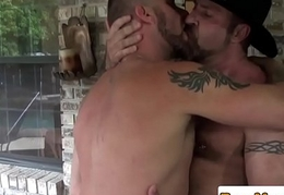 Gone tomorrow bear ass fucked and fingered outdoors