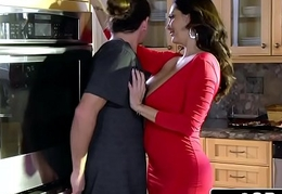 Sultry Blas' Mom Ava Addams Fucks Her Daughter'_s Boyfriends overhead Christmas