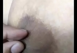 Desi Wife Enjoying Big Boobs nipples pulled