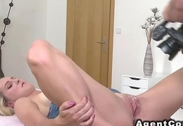 Fake go-between records blonde yon cum on snatch
