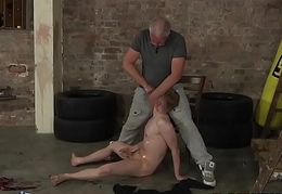 Nasty grown-up guy loves shafting with vulgar young man