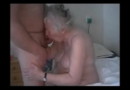 Amateur. Having fun with age-old granny