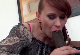 Fixed devoted to redhead babe creampied hard by bbc