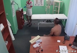 Tempt a prepare the truth fucks blonde nurse in hospital